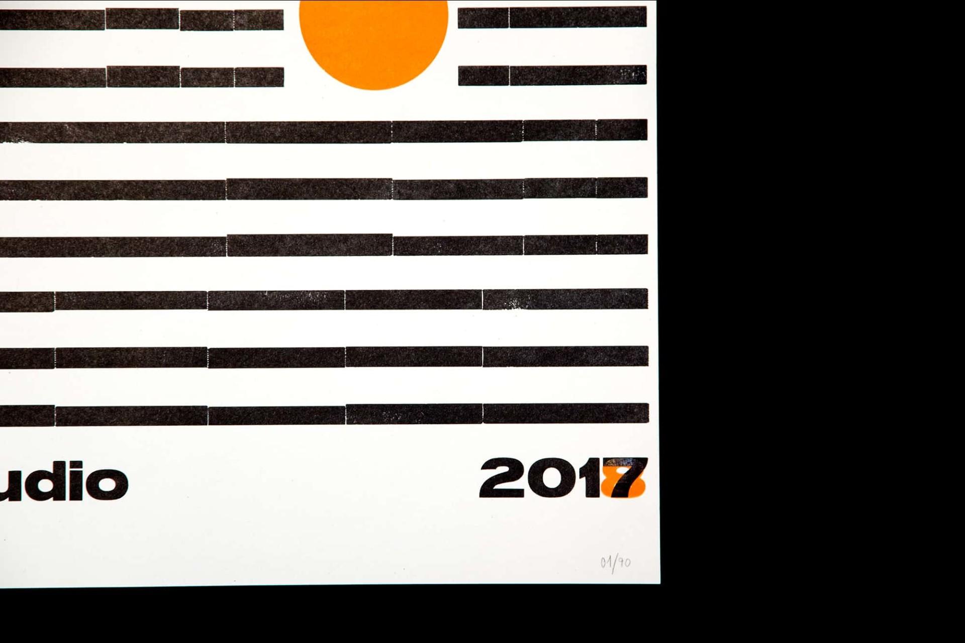 Eremo Letterpress Posters 2017/2018